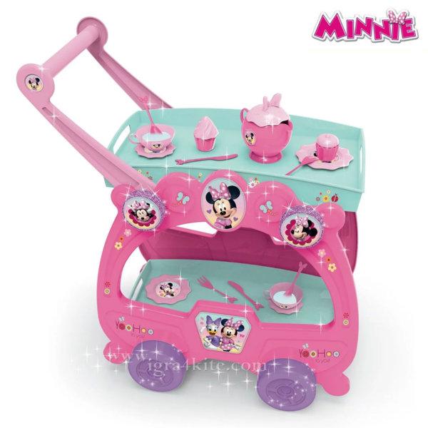Disney Minnie Mouse Детска количка за сервиране 2 в 1 Мини Маус 2918