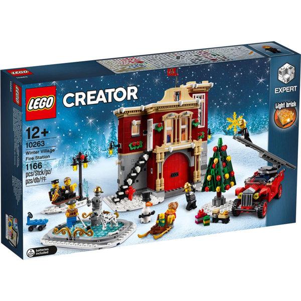 Lego 10263 Creator Expert Зимна пожарна станция