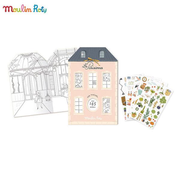 Moulin Roty Книжка със стикери 642544