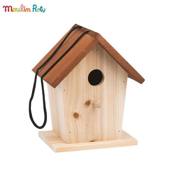 Moulin Roty Дървена къщичка за птици 712301