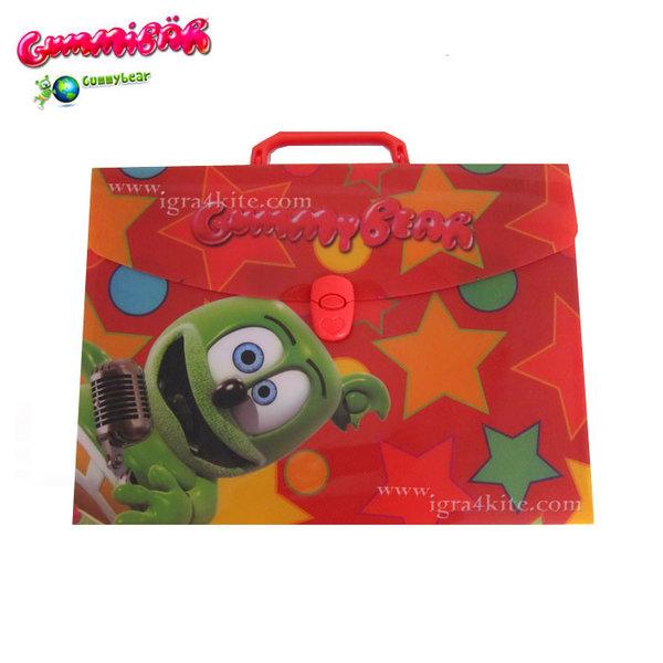 GummyBear - Детска папка с копче Джими Беар