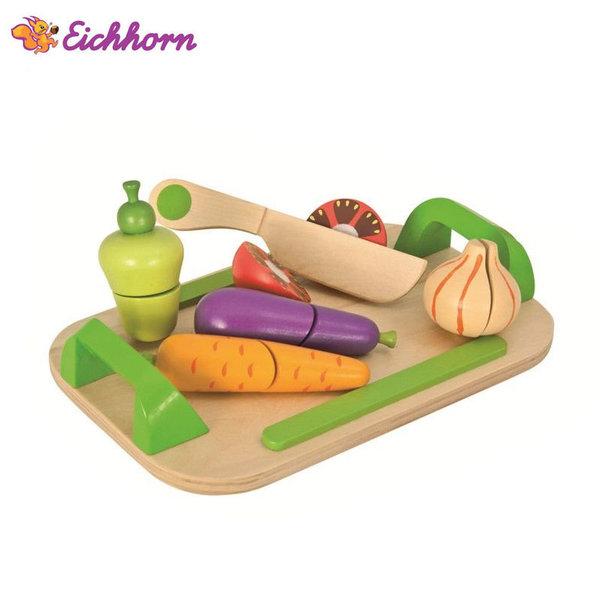 Eichhorn Дървена дъска за рязане със зеленчуци 100003722