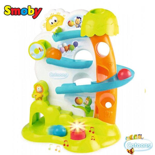 Smoby Детски ролбан с топки и светлинни и звукови ефекти 110424