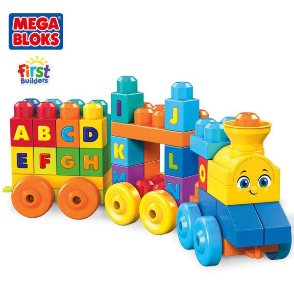 Mega Bloks Детско музикално влакче с букви FWK22