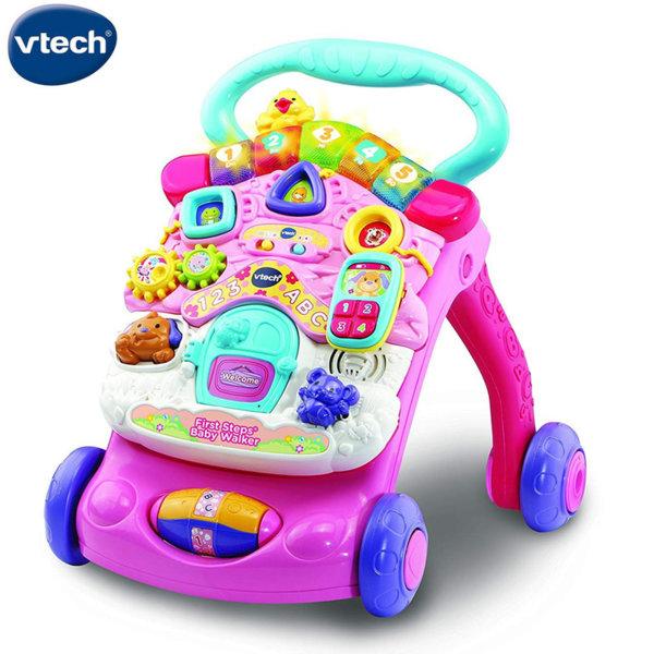 Vtech Бебешка проходилка 2в1 розова 505653