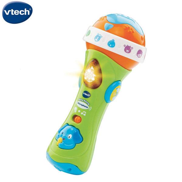 Vtech Бебешки музикален микрофон 078763