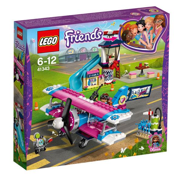 Lego 41343 Friends Самолетна обиколка над Хартлейк