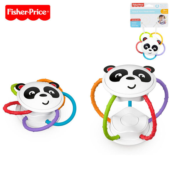 Fisher Price Дрънкалка Панда FVF42