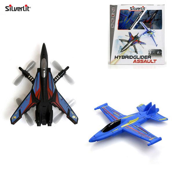 Silverlit Самолет с дистанционно управление Hybrid Glider Assault 84800
