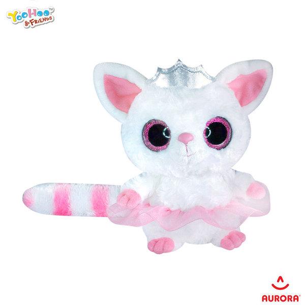 Aurora YooHoo & Friends Плюшено животинче Пами принцеса с брокат 141141A