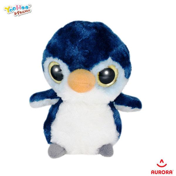 Aurora YooHoo & Friends Плюшено животинче Пингвинчето Куки с брокат 80747R