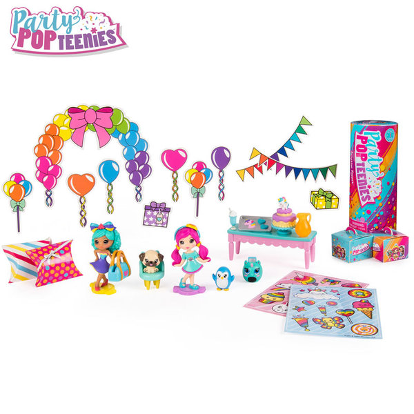 Party Popteenies Игрален комплект с куклички и аксесоари 6045714