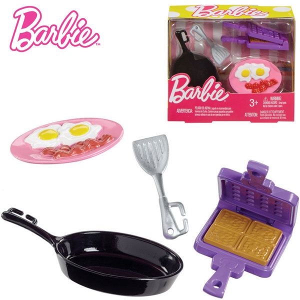 Barbie Домакински комплект за готвене Барби FHP69