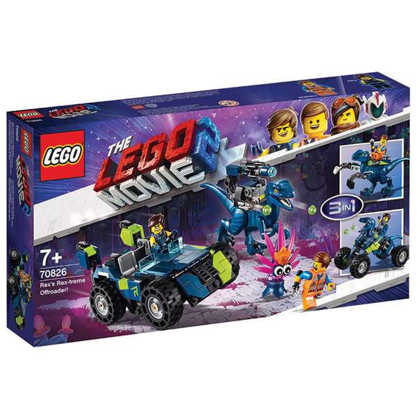 Lego 70826 The LEGO Movie2 Рексималният джип на Рекс