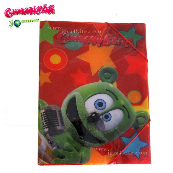 GummyBear - Детска папка с ластик Джими Беар