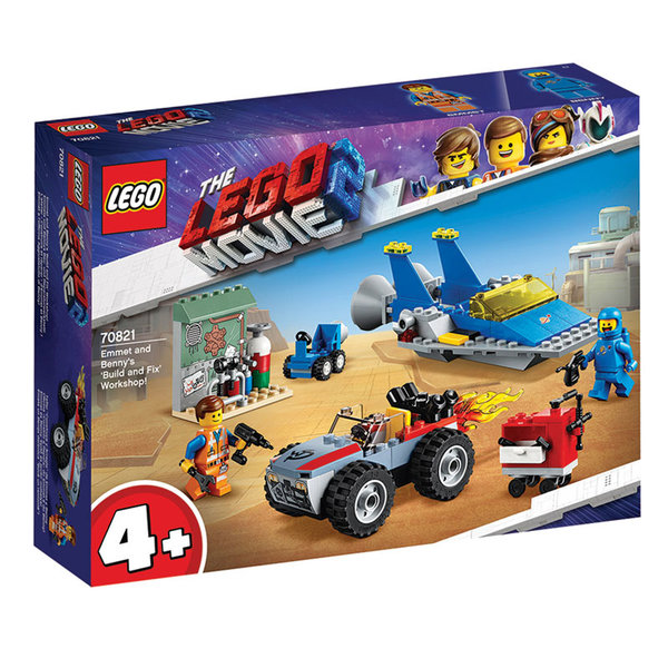 Lego 70821 The LEGO Movie2 Работилницата на Емет и Бени