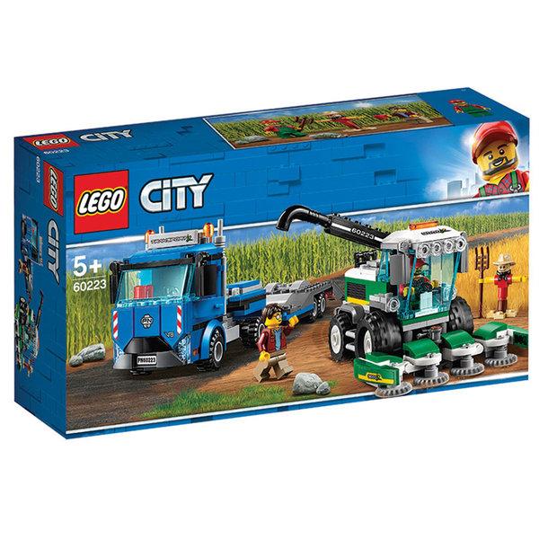 Lego 60223 City Транспортьор за комбайни
