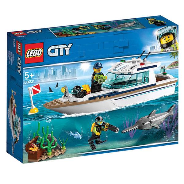 Lego 60221 City Яхта за гмуркане