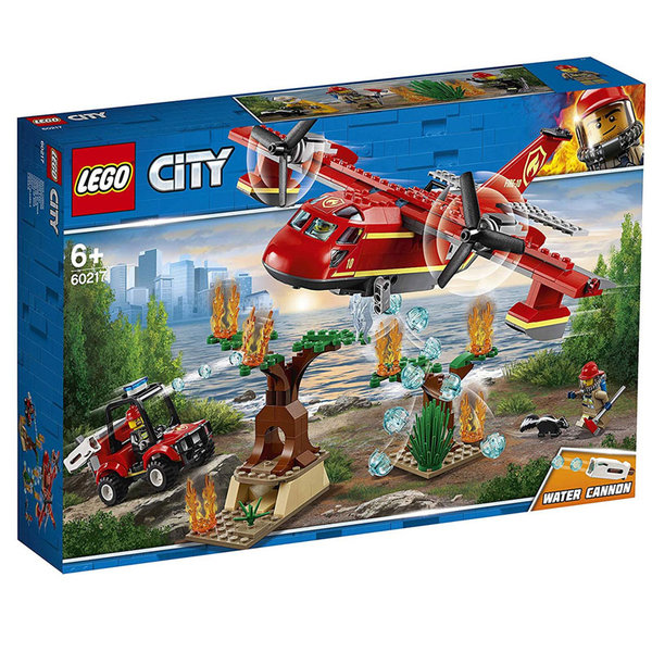 Lego 60217 City Пожарникарски самолет