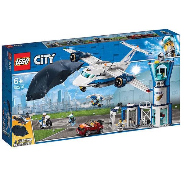 Lego 60210 City Въздушна полиция с полицейска база
