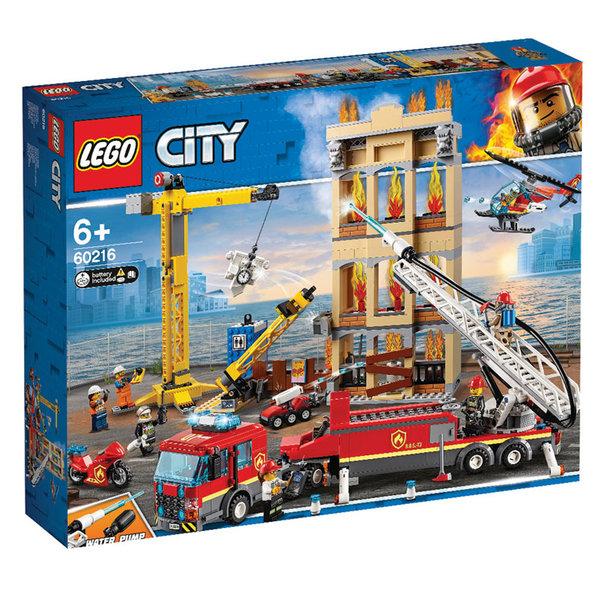 Lego 60216 City Пожарна команда в центъра