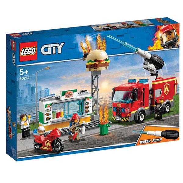 Lego 60214 City Спасителна акция от пожар в бургер бар