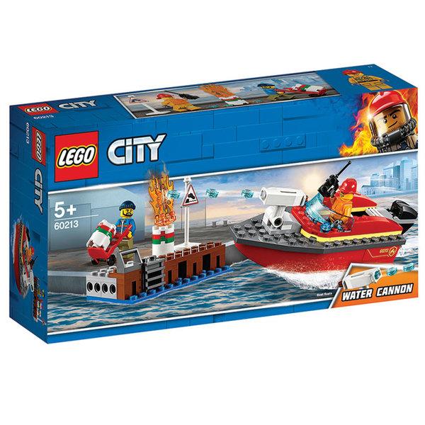Lego 60213 City Пожар на доковете