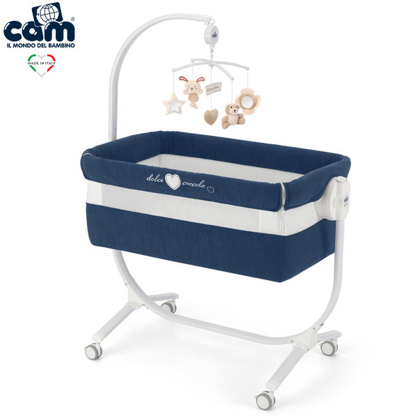 Cam Бебешко легло люлка Cullami 925/146 синьо