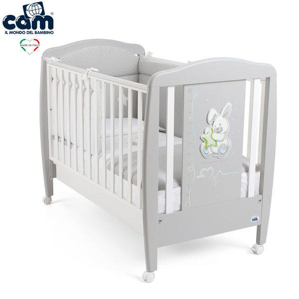 Cam Бебешко легло G252 зайче сиво