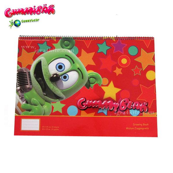 GummyBear - Блок за рисуване Джими Беар