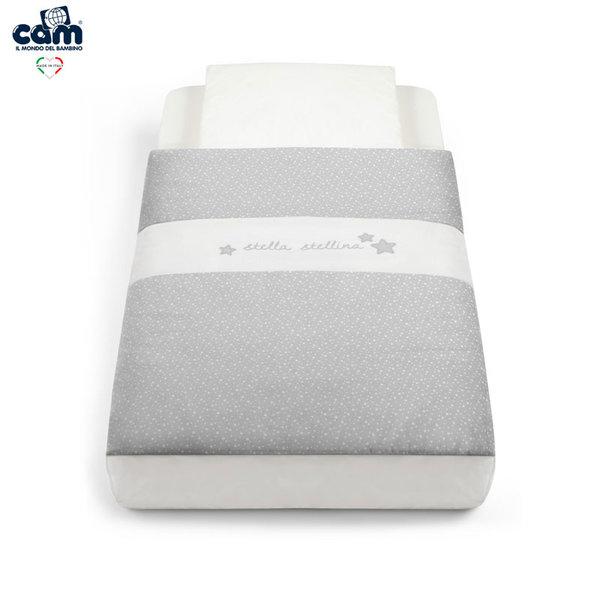 Cam Спален комплект за легло люлка Cullami 926/140 сив