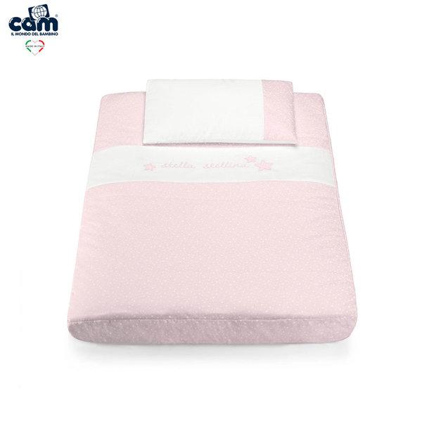 Cam Спален комплект за легло люлка Cullami 926/141 розов