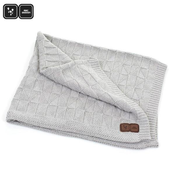 ABC Design Бебешко одеяло grey