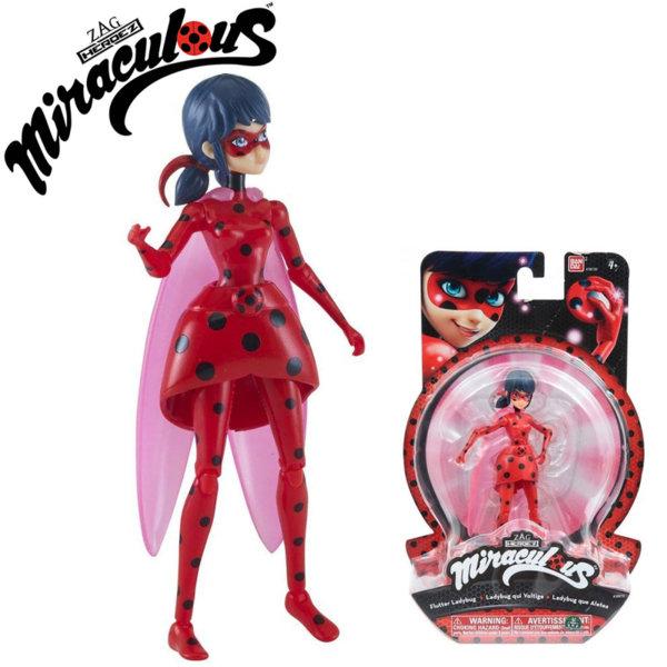 Калинката и Черният Котарак Кукла Маринет LadyBug 39720