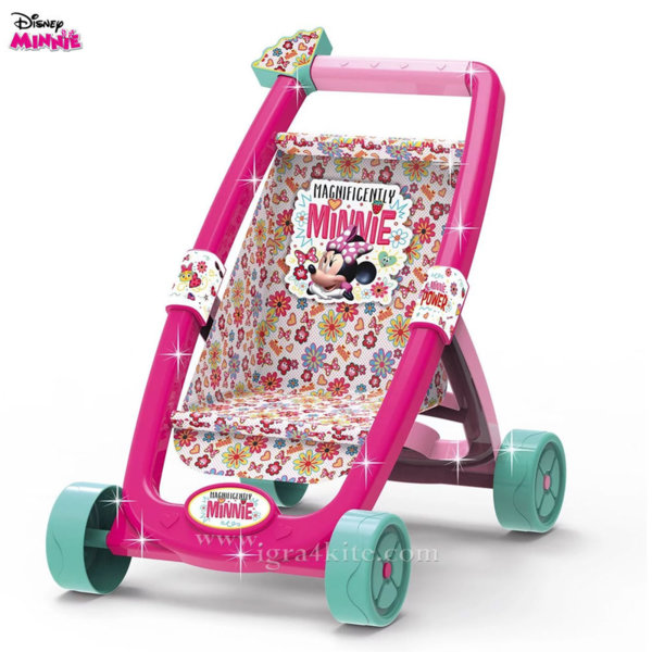 Disney Minnie Mouse Детска количка за кукли Мини Маус 8446