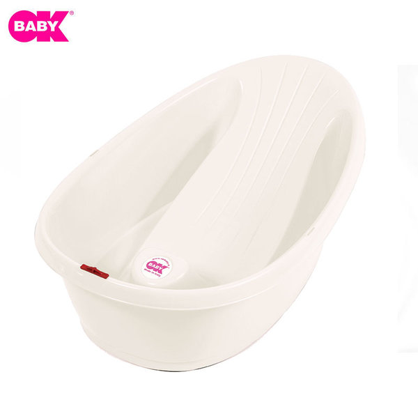 Ok Baby Ергономична вана Onda Baby 892-68 перлено бяла