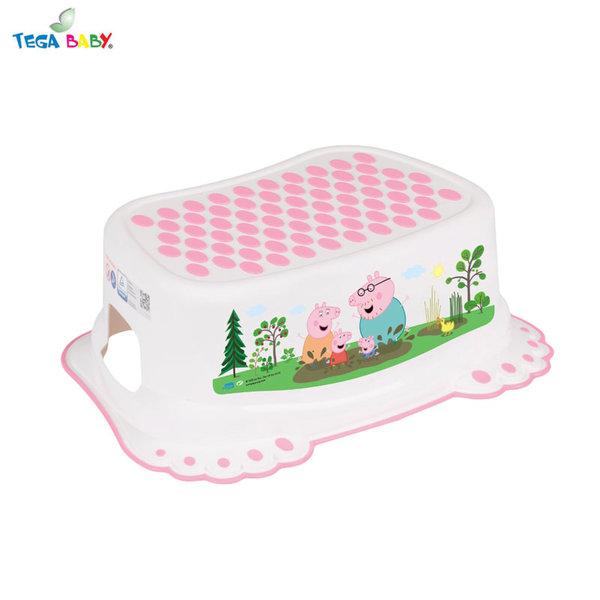 Tega Baby Стъпало за баня Peppa Pig розово