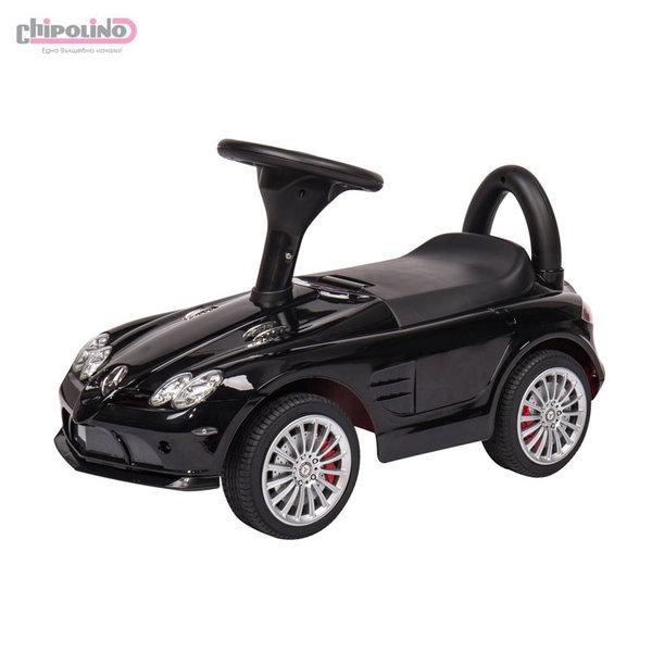 Chipolino Кола за бутане с крачета Mercedes Benz 722S черна