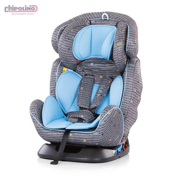 Chipolino Столче за кола 4в1 (0-36kg) скай
