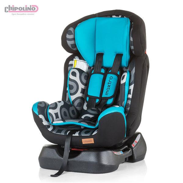 Chipolino Столче за кола Макстро (0-25kg) морско синьо