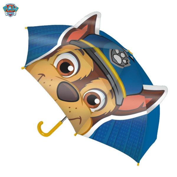 Paw Patrol Детски чадър 3D Пес Патрул Чейс 4142