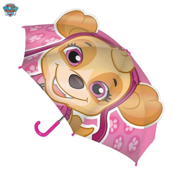 Paw Patrol Детски чадър 3D Пес Патрул Скай 4143