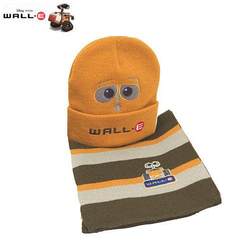 Детски комплект шапка и шал Disney Wall-e 5016 оранж