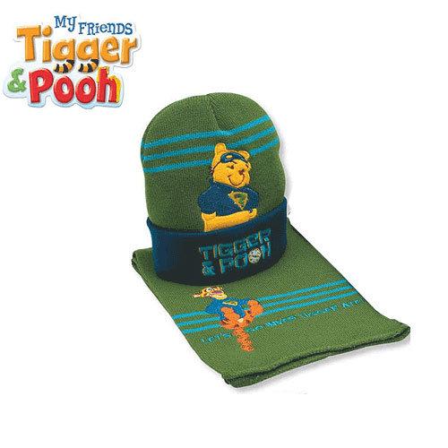 Детски комплект шапка и шал Disney Мечо Пух 4064