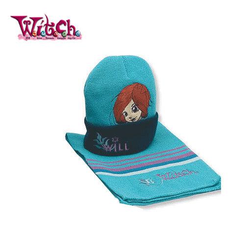 Детски комплект шапка и шал Disney Witch 4094
