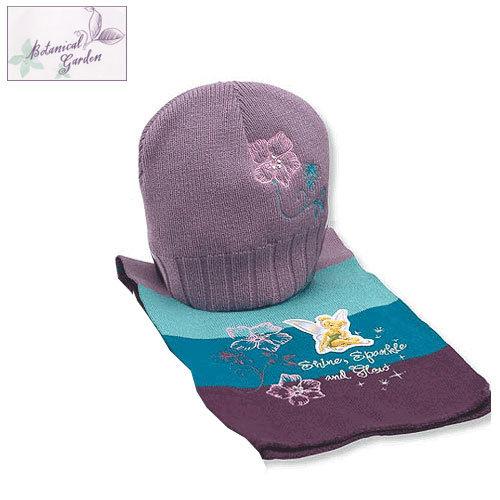 Детски комплект шапка и шал Disney Феичка 4056