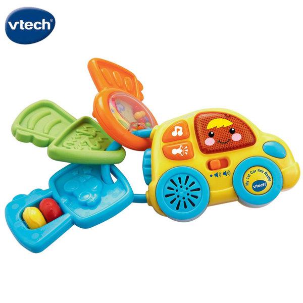 Vtech Бебешка дрънкалка ключодържател със звук и светлина 150603