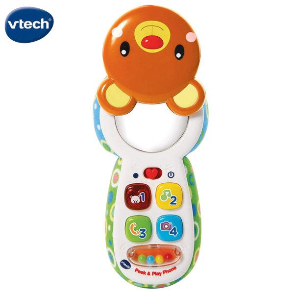Vtech Бебешки телефон мече 502703