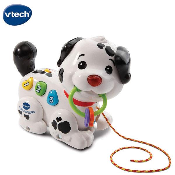 Vtech Музикално кученце за дърпане 502803