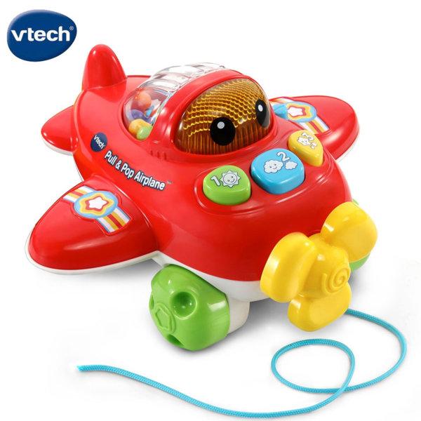 Vtech Музикално самолетче за дърпане 508803